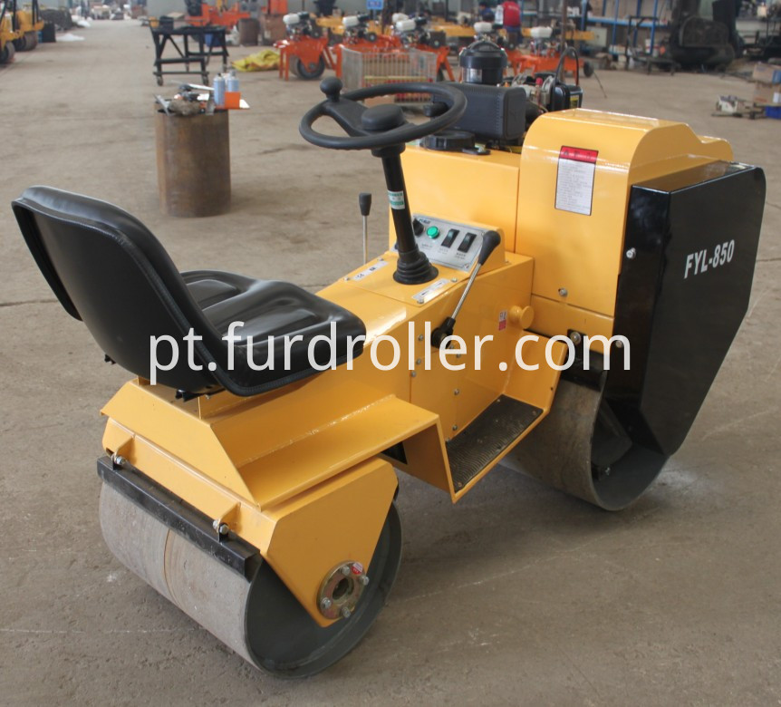 ride on vibratory roller best selling