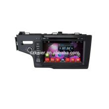 Heißer Verkauf !! DVD Auto Audio Navigationssystem, Bluetooth, SPIEGEL-CAST, AIRPLAY, DVR, Spiele, Dual Zone, SWC für Honda Fit 2014