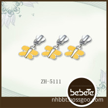 butterfly zipper pull charm,decorative zipper pulls