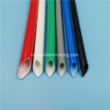 Silicone Rubber Coated Braided Fiberglass Pipe Sleeves