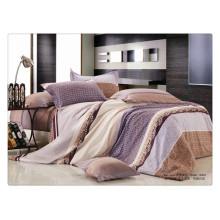 Luxus 40s 128 * 68 Pigmentdruck 100% Baumwolle elastisches Spannbetttuch