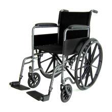 Fauteuil roulant manuel à jambe amovible pour accoudoir fixe