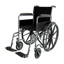 Fixed armrest removable leg manual wheelchair