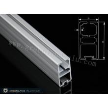 Rail inférieur en aluminium de style lourd