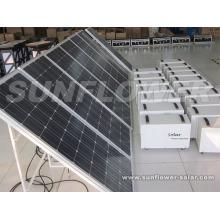 Système d'alimentation solaire maison 400W