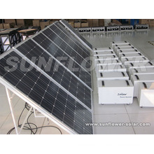 400W Solar home power system
