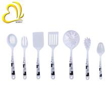 Venda Por Atacado 7 pcs conjuntos de ferramentas de cozinha de melamina