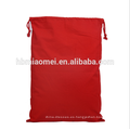 Bolsas de dulces de Navidad de color rojo divertido de Navidad bolsa de regalo de Navidad