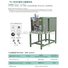 16A Europe plug Fully Automatic plug insert crimping press Machine