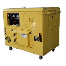 Generador diesel insonoro monofásico de 8.5kVA 50Hz
