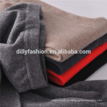 Calças de cashmere 100% cashmere malha de inverno