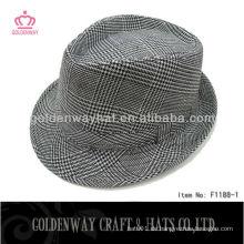 Billige burgunder Fedora Hut Für Männer