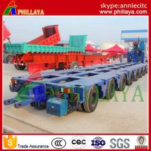 Remorque hydraulique modulaire / lourde d'équipement de transport de machines