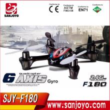 JJRC F180 RC Quadcopter Mini drone 4-Axis UFO 2.4 GHz UFO W / GYRO Transmetteur Protecteur