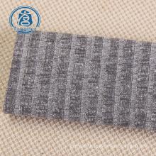 100% cotton stripe textile custom hacci fabric