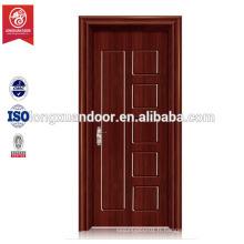 Porte d'entrée à domicile, porte à bois peu coûteuse