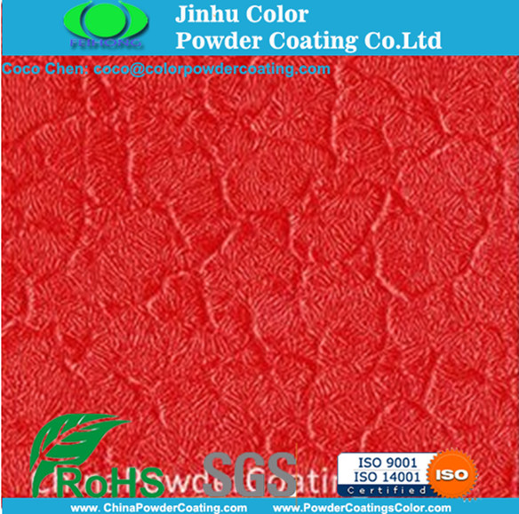 Red Crocodile Skin Effect Spray Elektrostatische Powder Coating