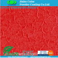 Red Crocodile Skin Effect Spray Electrostatic Powder Coating