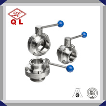 Hygienic Butterfly Valve Clamped Manual Valve