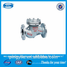 Clapet anti-retour en acier inoxydable 316 utilisé dans le fournisseur de porc Chine acide