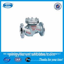 Обратный клапан из нержавеющей стали 316, используемый в поставщике фарфоровой азотной кислоты