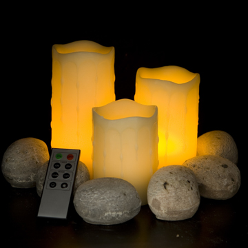 Pillar flameless LED candles