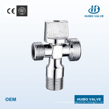 """1/2"""" Inch Three-Way Brass Angle Valve with Ce Certificate"""