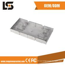 De aluminio a presión Shell del motor de la fundición con la fabricación que trabaja a máquina