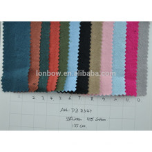 Tela de lino de algodón al por mayor de lino