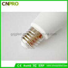 Guangzhou usine chaude LED blanche E27 / E14 / B22 ampoule LED lampe en gros