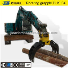 5 ton rotating excavator hydraulic grapple