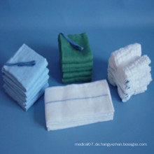 Nicht sterile Lap-Schwämme 100% Baumwolle BP-Qualität