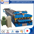 Profil Logam Baja Glazed Panel Roll Form Machine