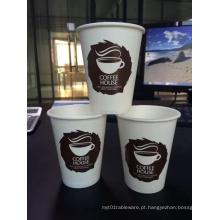 Fornecimento de fabricante de copos de papel de alta qualidade