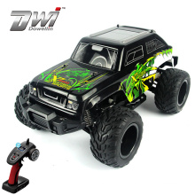 DWI  Big wheels monster rock high speed toy 1/12 scale rc car for kids