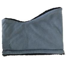 Stretch seamless windproof polar fleece neck warmer