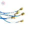 Automotive trunk lid lock wire harness/cable assembly