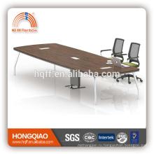 (МФЦ)ХТ-21-45 современный конференц-стол из нержавеющей стальная рама 4,5 м конференц-столы для продажи