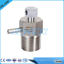High pressure stainless steel bleed and purge valve in China