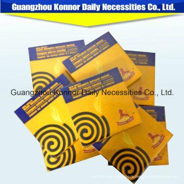 China Chemical Formula Mosquito Coil Natürliche Citronella Black Mosquito Coils