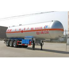 13m Tri-axle Liquefied Gas Tank نصف مقطورة