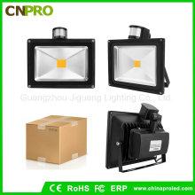 Высокий люмен Светодиодный флуд 50 Вт Witn Sensor PIR Floodlight
