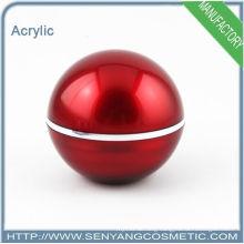 2015 new round acrylic packaging jar acrylic cosmetic jar