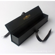 Hot Sale for Gift Box With Ribbon Bow,Small Gift Boxes,Long Umbrella Gift Box Manufacturers and Suppliers in China Black matte paper box with ribbon export to Poland Exporter