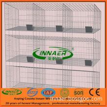 PVC Coated Metal Cages for Animal (3 tier* 3 door)
