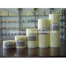Huaming candles/Wholesale White Pillar Candles /big pillar candle for home decoration