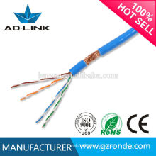 Cat 6 Type network SFTP cat5e cable fluke test utp cat5e cable