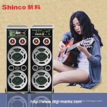 Cilindro Bluetooth Speaker com carregador de bateria externo