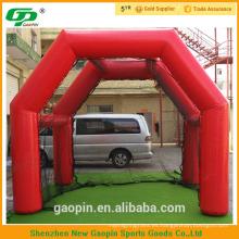 Nuevo diseño inflable golf práctica red cubierta