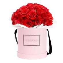 Princesse rose grands tubes en carton pour l'emballage de fleur